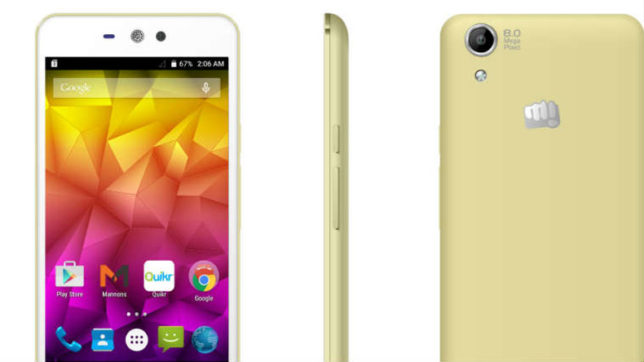 Micromax unveils 'Selfie 2' smartphone at Rs 9,999