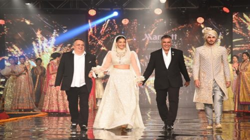 Glimpses of 'Wedding of the Year' fashion show by Abu Jani-Sandeep Khosla