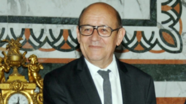French Foreign Minister Jean-Yves Le Drian. (File Photo: IANS)