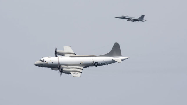 Chinese jet performed 'unsafe' intercept of US Navy plane