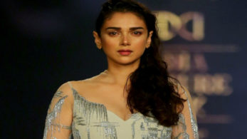 Actress Aditi Rao Hydari closed the designer's show at the ongoing India Couture Week (ICW).