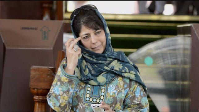 Mehbooba Mufti meets Rajnath Singh over Kashmir security situation