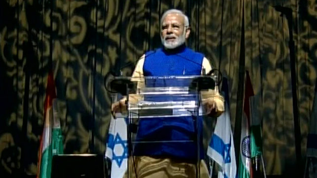 LIVE: It took 70 years to come to Israel: PM Narendra Modi