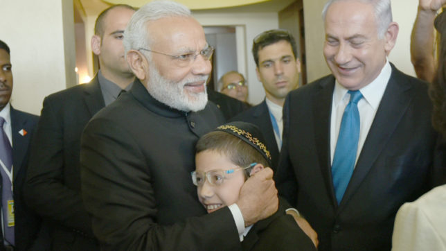 PM Modi meets 26/11 survivor Moshe; says he can visit India whenever he wishes