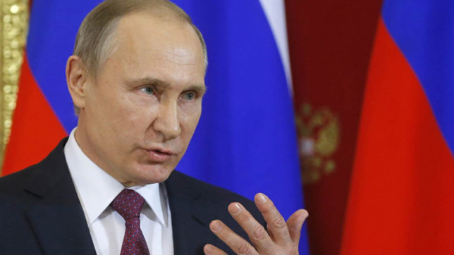 Joint drill with China not to start military alliance: Russian President Putin