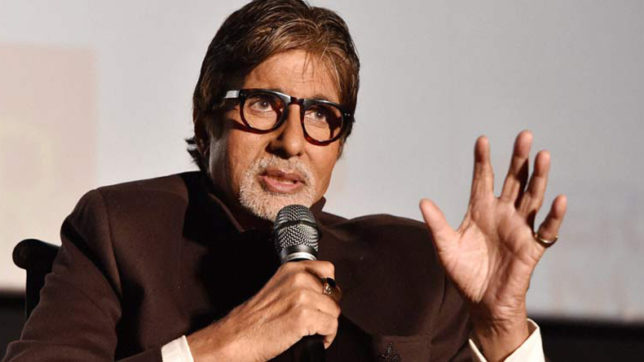Speaking is an art, says Big B