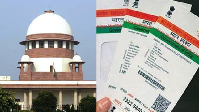 Aadhar case: Bench of 9 judges to decide if privacy is fundamental right