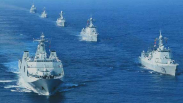China, Russia conduct simulation exercise for joint naval drills