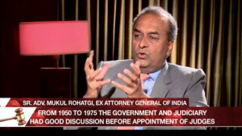 Mukul Rohatgi, Attorney General, Legally Speaking, NJAC, National Judicial Appointment's Commission, Ex-Attorney General Mukul Rohatgi
