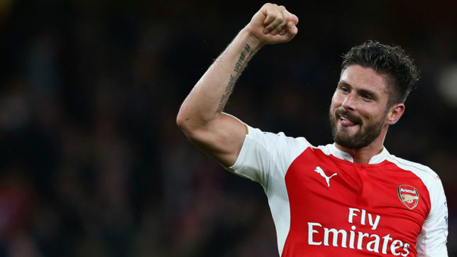 want to continue playing for Arsenal, says Olivier Giroud