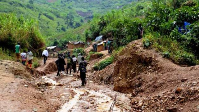 At least 28 killed in landslide in Congo