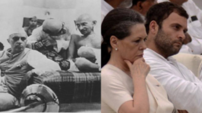 Irony of history: From Angrez-mukt in 1942 to Congress-mukt in 2017