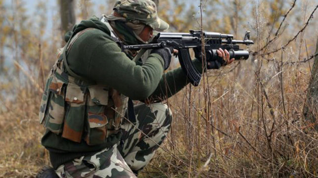 J&K: Encounter between security forces and terrorists underway in Pulwama's Samboora