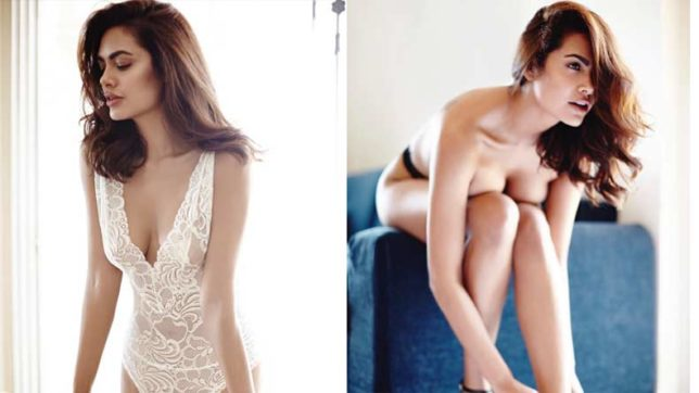 From-'Baadshaho'-to-just-wow!-Esha-Gupta-goes-topless-in-latest-photo-shoot