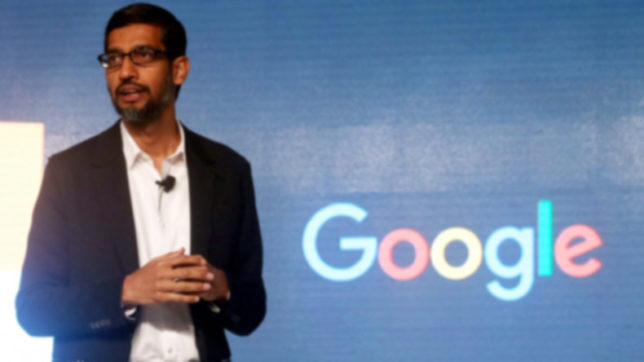 """Google CEO, Pichai makes a shout out to women employees, says """"you belong here, we need you"""""""