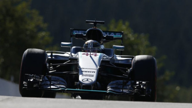 Belgian GP: Lewis Hamilton fastest in second practice session