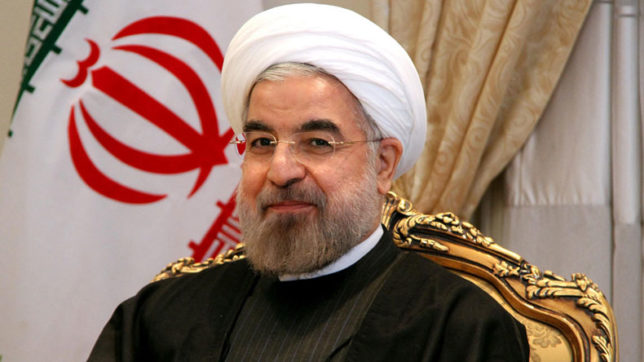 Iranian President Hassan Rouhani urges Saudi Arabia to quit 'interference' in Yemen