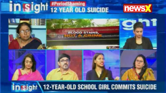 Insight: Student commits suicide after teacher embarrasses her for period stains in class