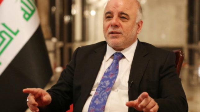 Iraq: PM Haider al-Abadi warns on inaction in fight against terrorism