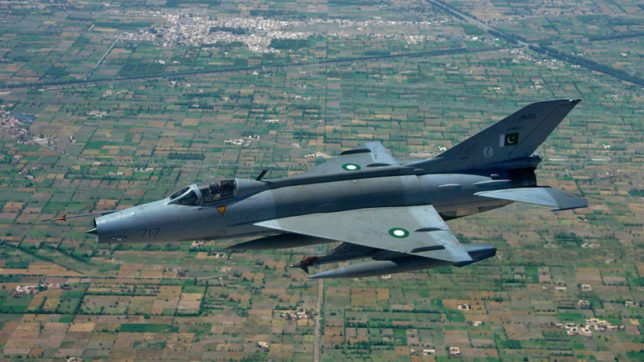 Pakistani-Air-force-pilot-dies-after-plane-crashes-during-routine-operation