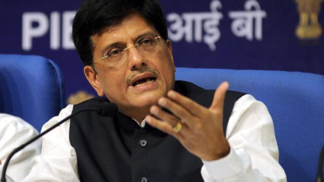 India may use only LEDs for lighting by 2019: Piyush Goyal