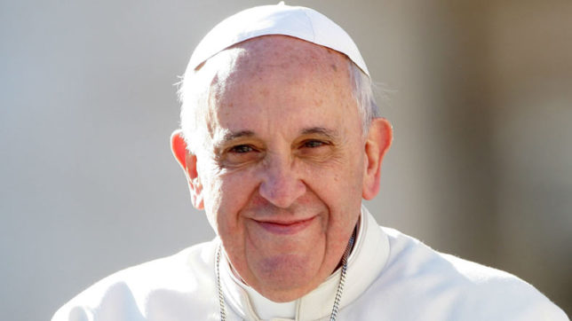 Pope Francis calls for an end to attacks on places of worship