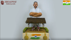 Independence Day,Dubai, Broadway Bakery, most expensive cake, Dangal, Dangal themed cake, Aamir Khan, Mahavir Singh Phogat, 70th Independence Day, Bollywood,