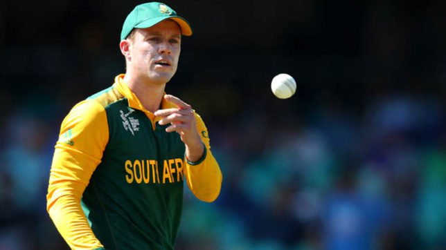 AB de Villiers steps down as South Africa ODI skipper, Faf du Plessis likely to take over