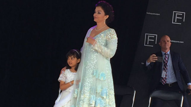 Aishwarya Rai Bachchan becomes first woman to hoist Indian flag at IFFM 2017