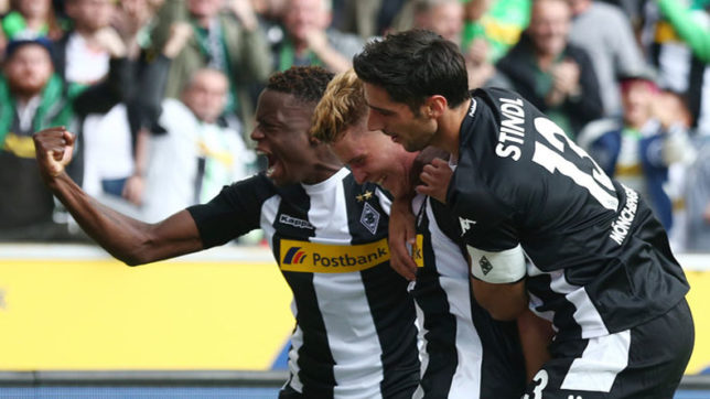 Monchengladbach win, Frankfurt held in German Bundesliga