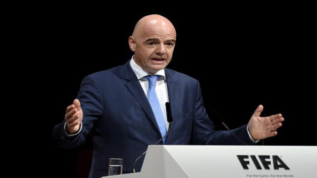 India a football boom waiting to happen, reckons FIFA chief Gianni Infantino