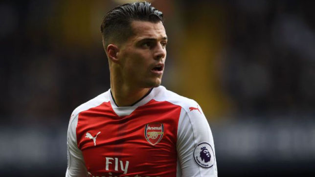 I can't go out in London after Liverpool defeat: Midfielder Granit Xhaka