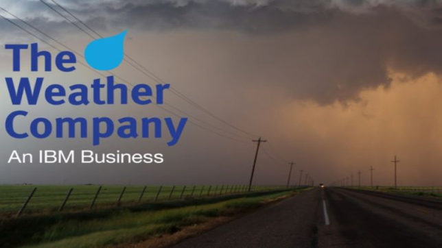 IBM's Weather Company is curbing infectious disease