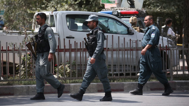 6 killed in suicide attack near Kabul bank