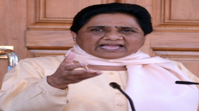 Mayawati denies reports she's batting for opposition unity