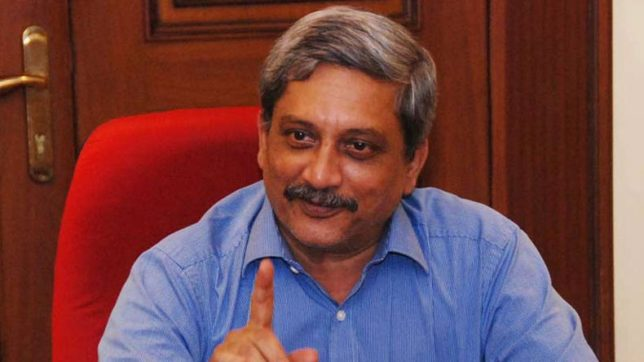 Critical Saamna editorial based on 'fake news': Manohar Parrikar