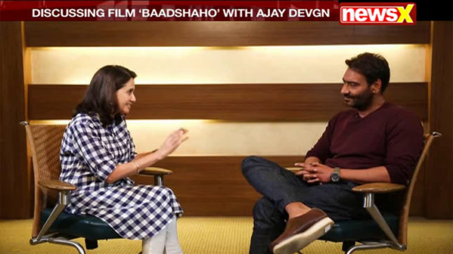 At the Movies: Ajay Devgan on his 26 years in the film industry; Anupama Chopra reviews Baadshaho & Shubh Mangal Saavdhan