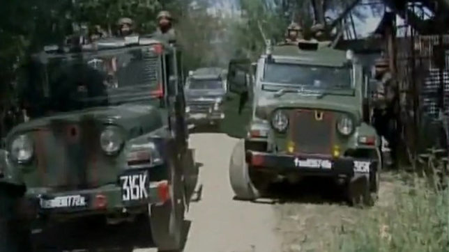 Encounter underway in Baramulla, J&K; 1-2 terrorists believed to be hiding