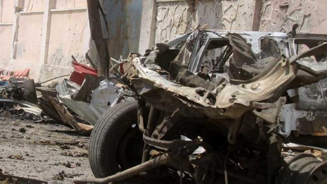 4 killed in market explosion in Afghanistan