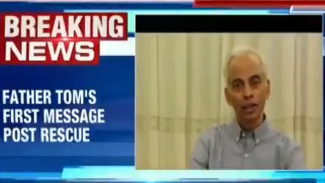Kerala priest, Father Tom Uzhunnalil's first message post rescue