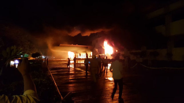 Massive fire at Haldiram factory in Noida sector 68; fire tenders rushed to spot