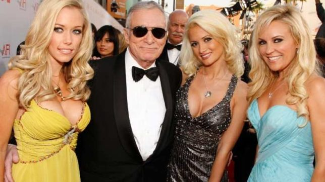 Take a look at Hugh Hefner's five most famous girlfriends