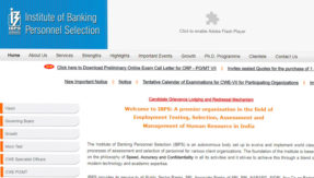 IBPS PO/ MT VII Prelims 2017 Admit Card releases @ www.ibps.in