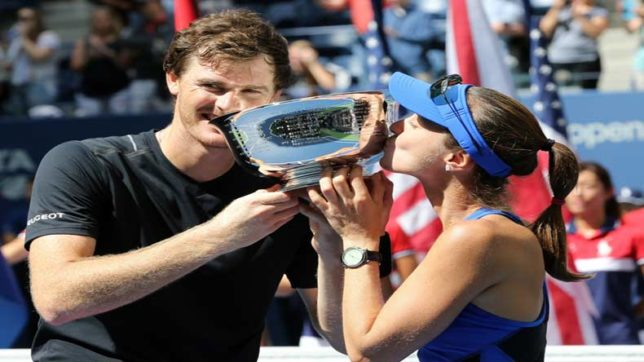 Jamie Murray, Martina Hingis win mixed doubles title at US Open