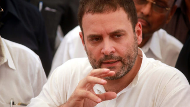 No place for anyone breaking Congress from within, warns Rahul Gandhi ahead of Gujarat polls