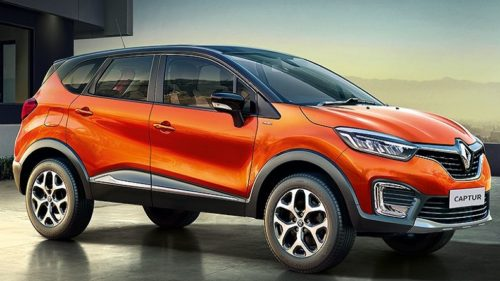 Renault Captur SUV unveiled in India, Launch in October
