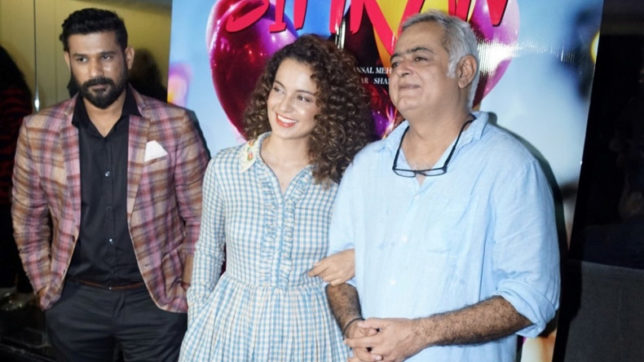 Kangana Ranaut is one of a kind, we should celebrate that: Hansal Mehta