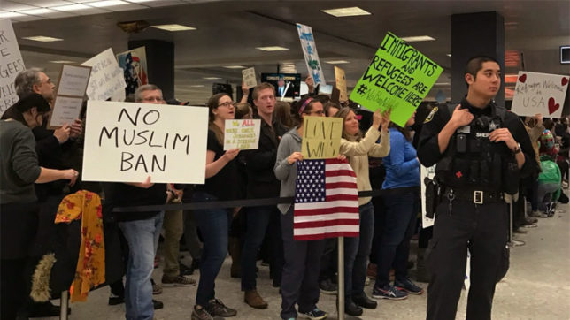 Trump Travel ban: People denied entry to US can reapply