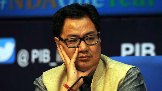 Will move SC for change in order on Chakma refugees Kiren Rijiju