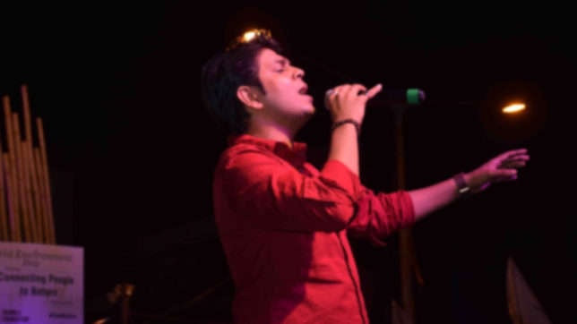 Ankit Tiwari is trying to get camera friendly